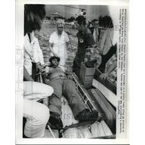 1973 Press Photo Roberto Suarez Man Involved In Shooting