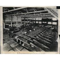 1931 Press Photo Assembly room for 4-passenger, mail and military planes