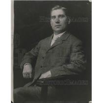 1922 Press Photo Albert Sherman, Chairman of the Education Committee
