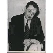 1934 Press Photo Mac Chipman alias Crapman after his arrest in Kansas