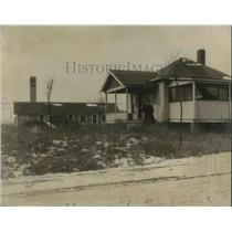 1924 Press Photo Lincoln House and Green House - nec23152