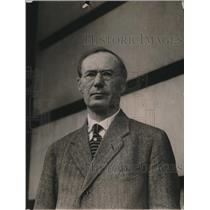 1920 Press Photo Advocate Ole S Solnerdai of Christinana Norway Lawyer