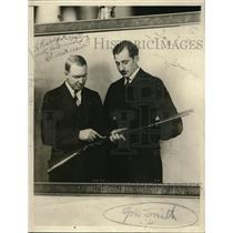1927 Press Photo Francis Gow Smith, explorer and another man - nec39193