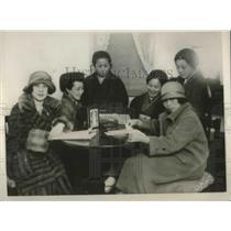 1926 Press Photo Japanese Women Reform Society discuss enfranchisement plans
