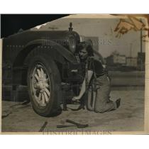 1925 Press Photo Florence Macbeth Opera Singer - nec39746