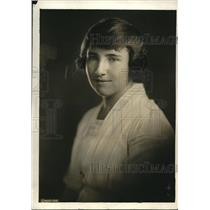 1920 Press Photo Miss Marjorie H Nicholson, Yale Univ, JA Porter prize