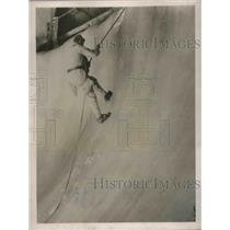 1922 Press Photo The First Dachstein Cavern Expedition.