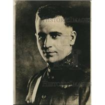 1924 Press Photo Round The World Army Flyer Leigh Wade Portrait