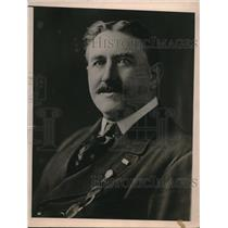 1923 Press Photo Captain J Francis Sheridan Commander Dominican Army
