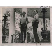 1921 Press Photo No Bid for Man at Auction on Historic Boston Common - nec36403