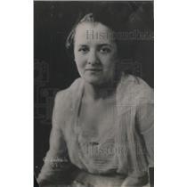 1919 Press Photo Miss Anna Gordon, daughter of Mrs G Barnett,USMC Cmdr wife