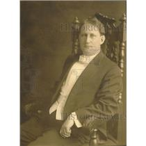 1920 Press Photo Edwin Vaite McIntyre, SE's organist