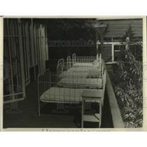 1923 Press Photo Dr Freytag Sun Sanatarium