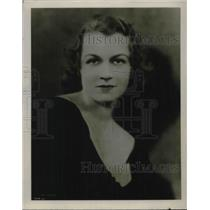 1923 Press Photo Louise Bernhardt, Contralto