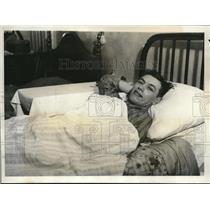 1931 Press Photo Marcel Guimbretierre, winner of 6 bay bike race in NYC