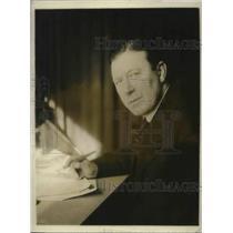 1918 Press Photo British author Sir John Foster Fraser