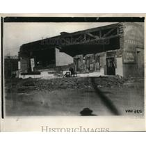 1927 Press Photo View of Abandoned Building in Calexico, California
