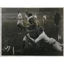 1925 Press Photo International Rugby, Twickenham, England Defeated by The Rest