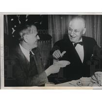 1940 Press Photo Jim Griffin Walter Thelan