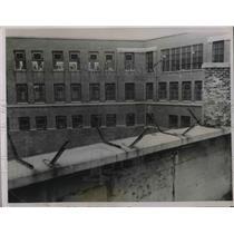 1936 Press Photo yard of Minnesota Insane Asylum. St. Peter Minnesota