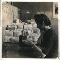 1911 Press Photo Central Bureau for POWs in Geneva Switzerland