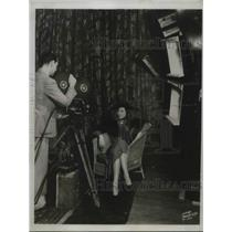 1934 Press Photo Mrs Natalie Hutchinson