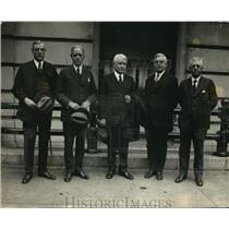 1923 Press Photo Republican National Committee claims convention cities.