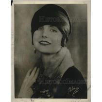 1929 Press Photo Bernice Yanacek - nec36096
