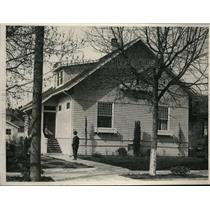 1919 Press Photo House where Dr.Northcott performed fatal Operation on Inez Reed