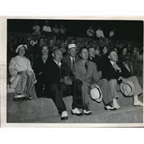 1937 Press Photo Garry Burczyk, Roland E. Reichert, and Edward E. Buckow