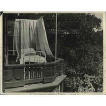 1923 Press Photo Dr Freytag Sun Sanitorium