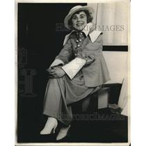 1923 Press Photo Miss Isabel Wagner for movie E Powell - nec32595