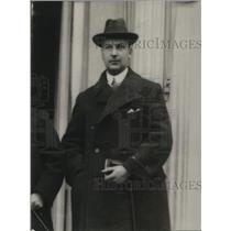 1924 Press Photo Dr. Venconias Sokolowski,Secty of Polish legislation