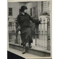 1926 Press Photo Angela Canizio - nec38135