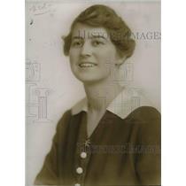 1918 Press Photo Miss Mae Stehle