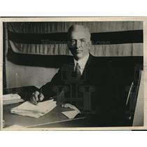 1926 Press Photo In dispute with Senator Borah