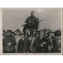 1922 Press Photo F.G Smith, champion rifle shot of Australia.