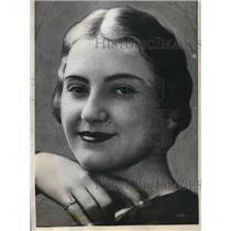 1932 Press Photo Mrs Leoana Buchannon, Nude Body Found In Her APartment
