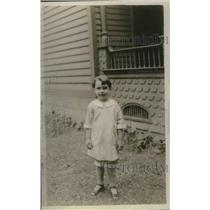 1923 Press Photo Josephine Dumas, Abandoned and Reclaimed By Mother