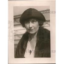1925 Press Photo Mrs J F Nichols St Paul Minnesota