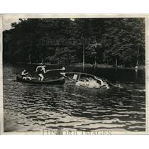 1930 Press Photo Water Carnival of The Weatton School