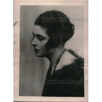 1922 Press Photo Lady Constance Malleson daughter of Late Earl of Annesley.