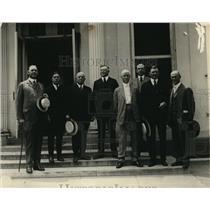 1921 Press Photo Delegation Mid West Manufacturers of Ohio, Illinois & Kentucky