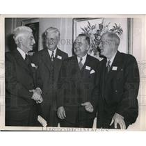 1944 Press Photo Iowa Mayors Meet At US Conference Of Mayors in Chicago