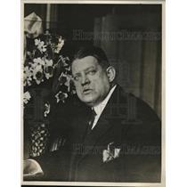 1927 Press Photo Capt. George Patterson head of the Boston Police liquor squad