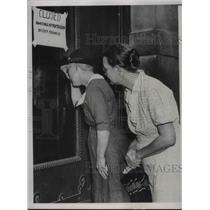 1937 Press Photo Relief Headquarters.