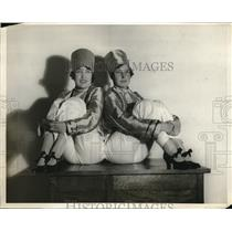 1928 Press Photo Lady Rodgers and Betty Calahan In Russian Costume
