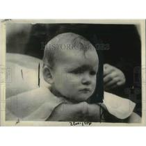 1923 Press Photo Gregory Russell, paternity challenge by Hon John Hugo Russell