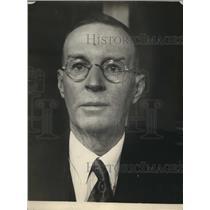 1924 Press Photo Matthews O'Brien Architect of San Francisco California