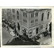 1912 Press Photo Bostonians have a tea party. Boston  Mass.